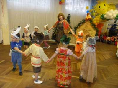 Занятия и праздники в детском саду